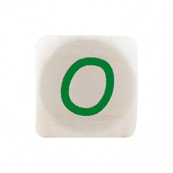 Premiumbuchstabe 10 mm grün O