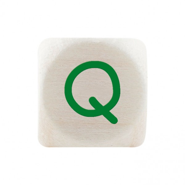 Premiumbuchstabe 10 mm grün Q