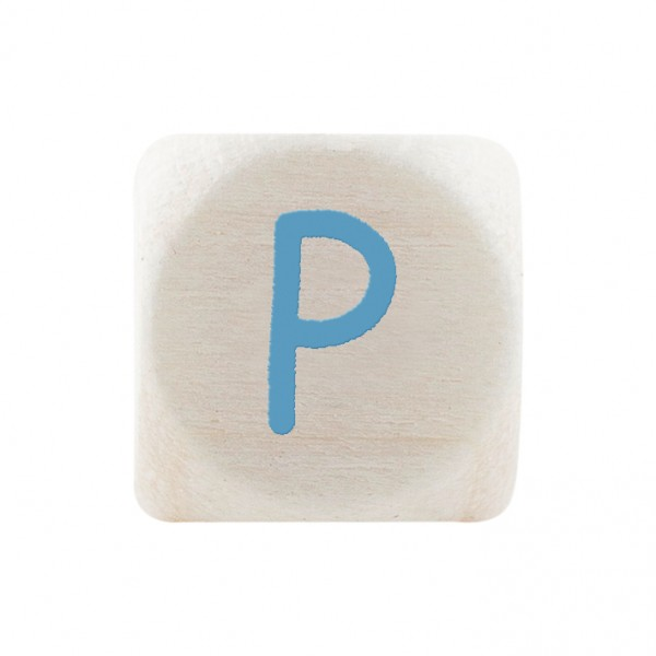 Premiumbuchstabe 10 mm babyblau P