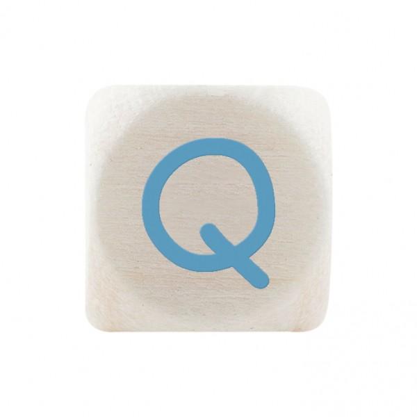 Premiumbuchstabe 10 mm babyblau Q
