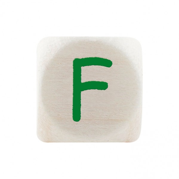 Premiumbuchstabe 10 mm grün F