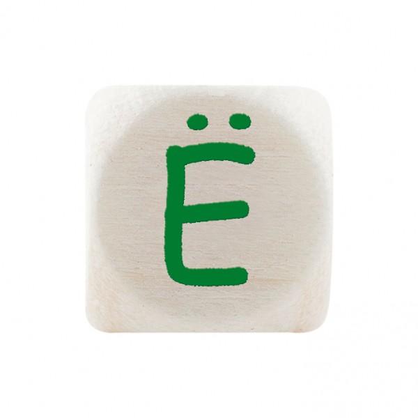 Premiumbuchstabe 10 mm grün Ë