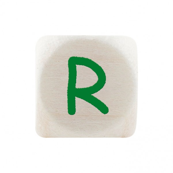 Premiumbuchstabe 10 mm grün R