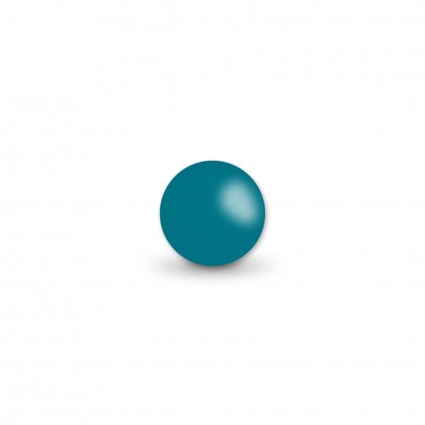 Ausverkauf Uniperlen 8 mm hellpetrol