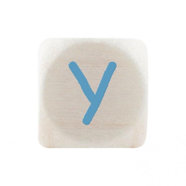 Premiumbuchstabe 10 mm babyblau Y