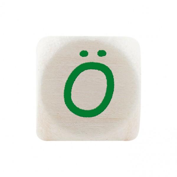 Premiumbuchstabe 10 mm grün Ö
