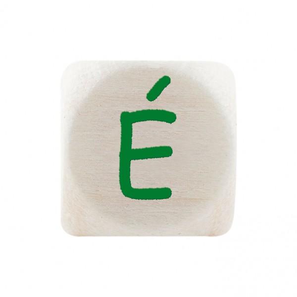 Premiumbuchstabe 10 mm grün É