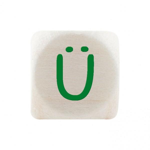 Premiumbuchstabe 10 mm grün Ü