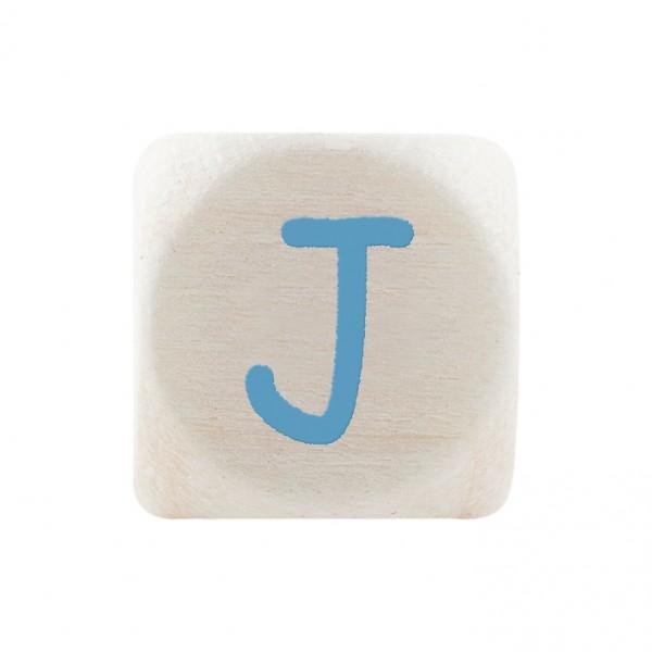 Premiumbuchstabe 10 mm babyblau J