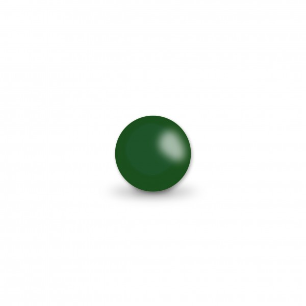 Ausverkauf Uniperlen 8 mm dunkelgrün
