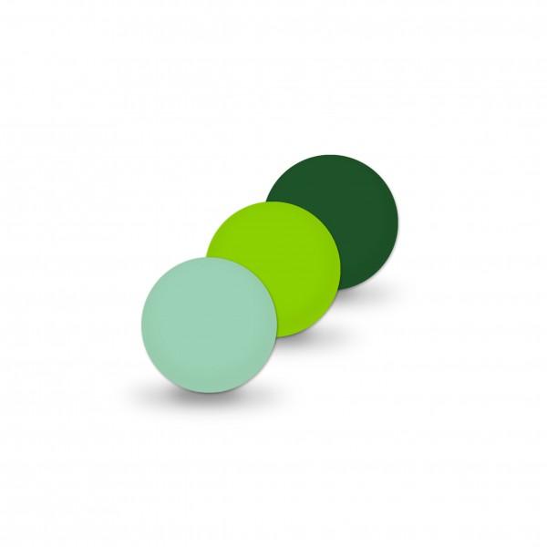 Ausverkauf Uniperlen 8 mm mint-mix