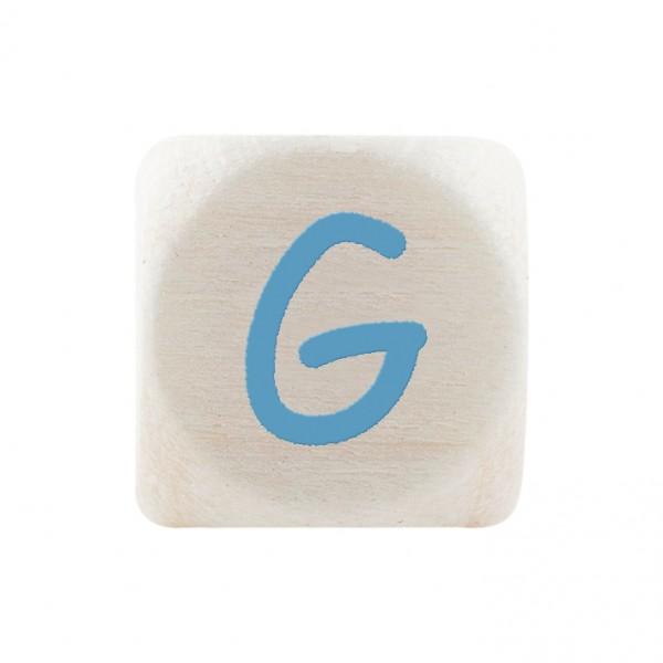 Premiumbuchstabe 10 mm babyblau G