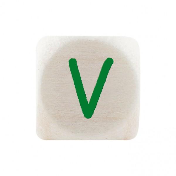 Premiumbuchstabe 10 mm grün V