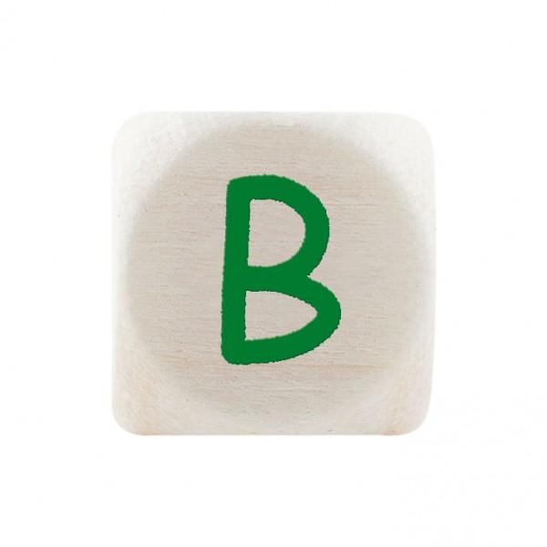 Premiumbuchstabe 10 mm grün B