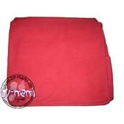 Schultertaschenrohling aus Canvas rot