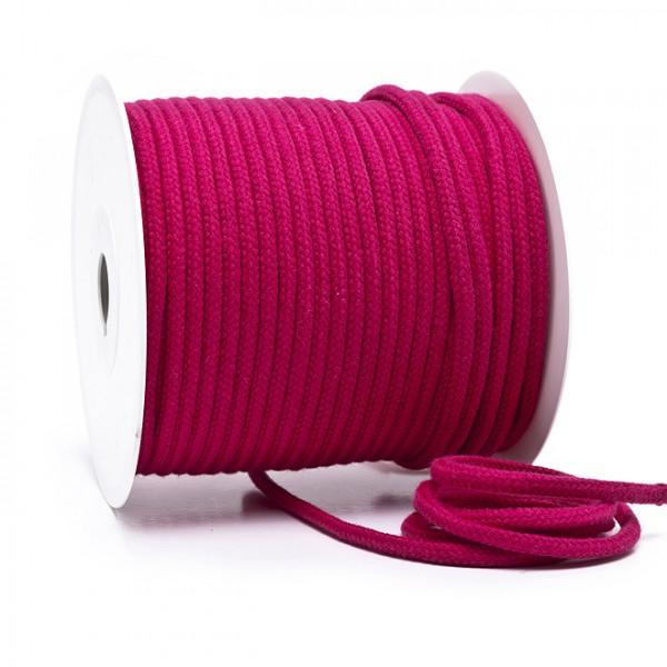 Kordel 100% Baumwolle 6 mm magenta