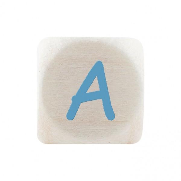 Premiumbuchstabe 10 mm babyblau A