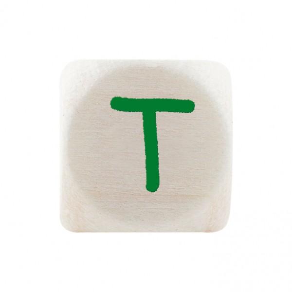 Premiumbuchstabe 10 mm grün T