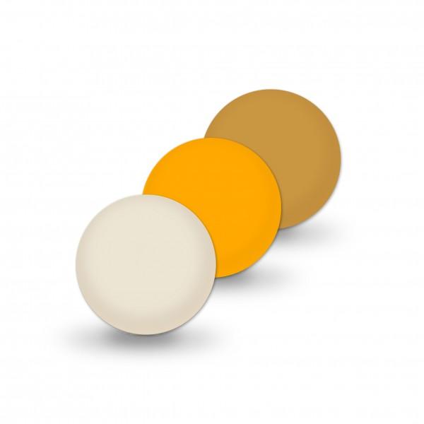 Ausverkauf Uniperlen 10 mm beige-mix