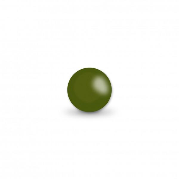Ausverkauf Uniperlen 8 mm olive