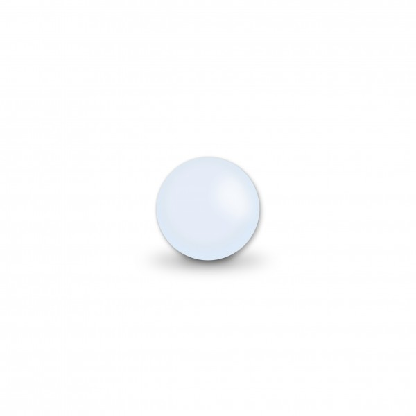 Ausverkauf Uniperlen 8 mm pastellblau