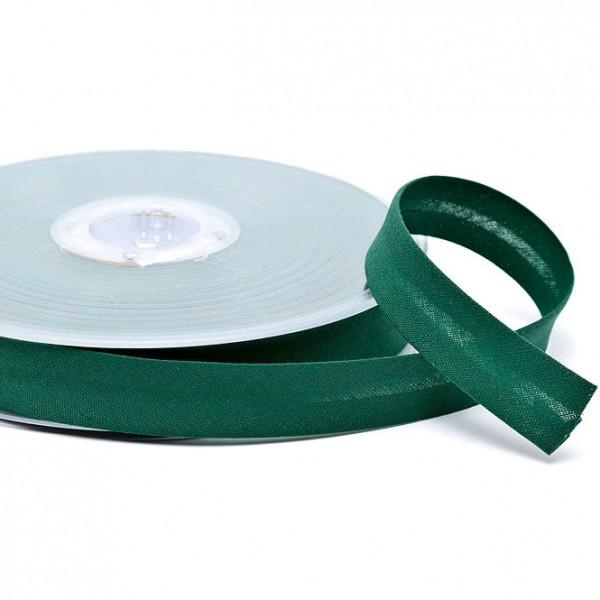elastisches Schrägband 18 mm uni 09 grün