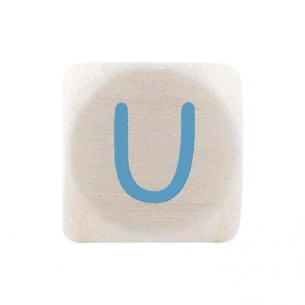 Premiumbuchstabe 10 mm babyblau U