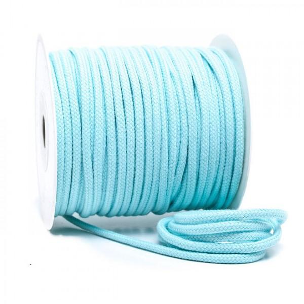 Kordel 100% Baumwolle 6 mm aquamint