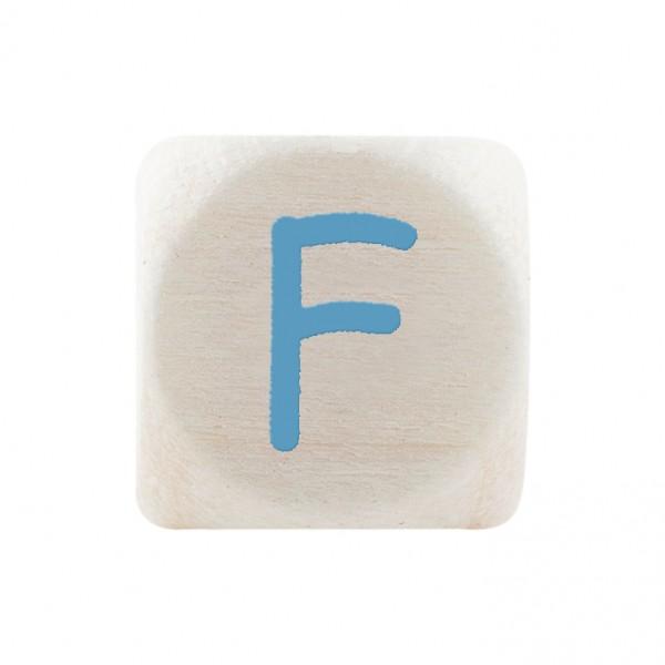 Premiumbuchstabe 10 mm babyblau F