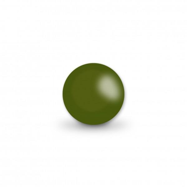 Ausverkauf Uniperlen 10 mm olive