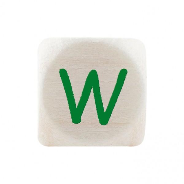Premiumbuchstabe 10 mm grün W
