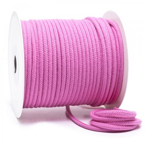 Kordel 100% Baumwolle 6 mm rosa