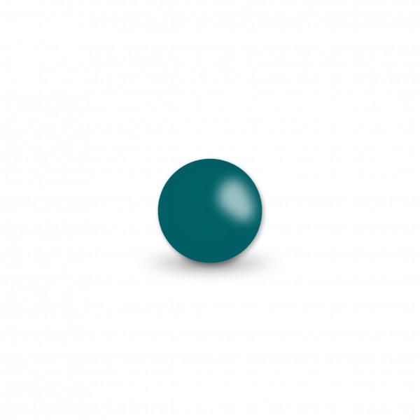 Ausverkauf Uniperlen 8 mm dunkelpetrol