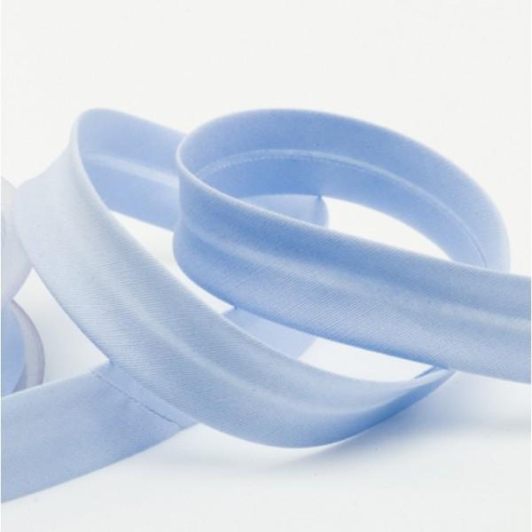elastisches Schrägband 18 mm uni 06 babyblau
