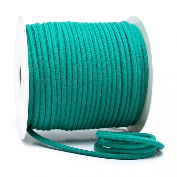 Kordel 100% Baumwolle 6 mm mittelgrün