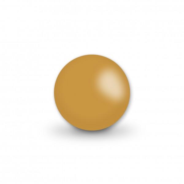 Ausverkauf Uniperlen 12 mm hellbraun