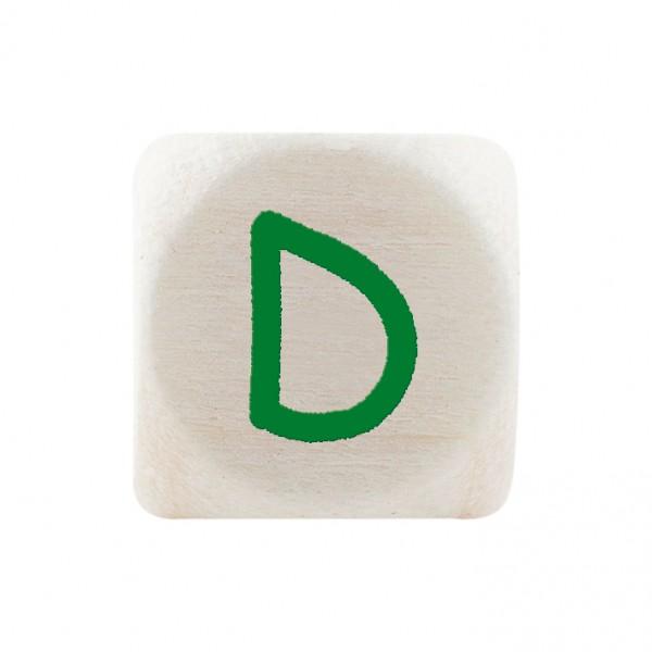 Premiumbuchstabe 10 mm grün D