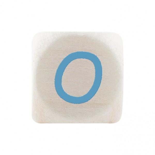 Premiumbuchstabe 10 mm babyblau O