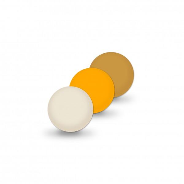 Ausverkauf Uniperlen 8 mm beige-mix