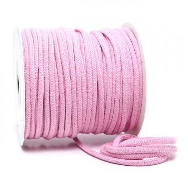 Kordel 100% Baumwolle 6 mm pastellrosa
