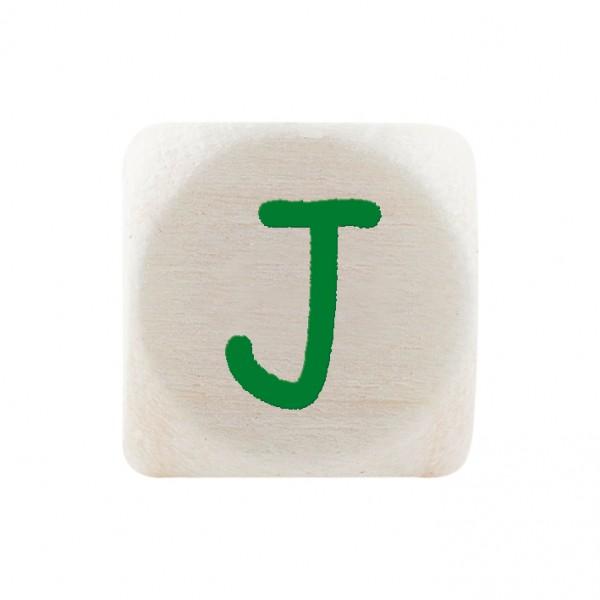 Premiumbuchstabe 10 mm grün J