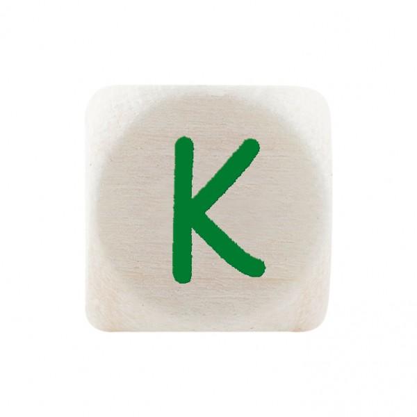 Premiumbuchstabe 10 mm grün K