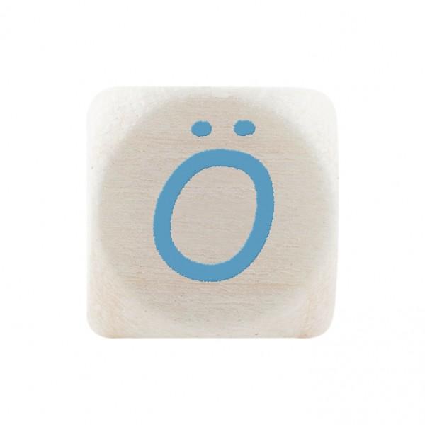 Premiumbuchstabe 10 mm babyblau Ö