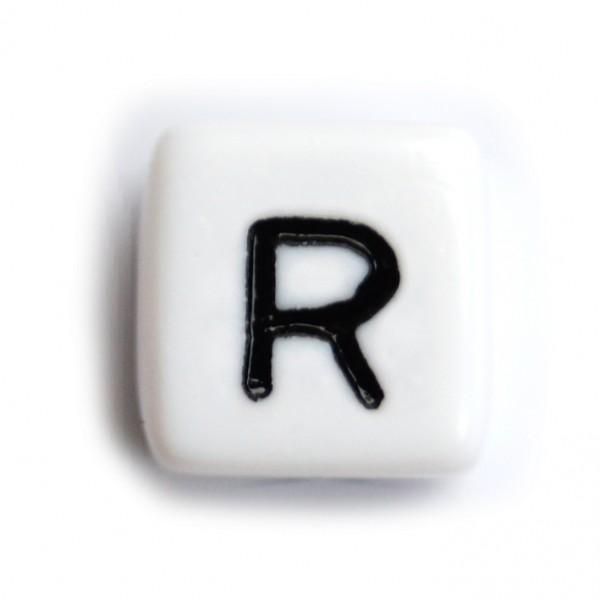 Kunststoffbuchstabenwürfel 10 mm einzeln R