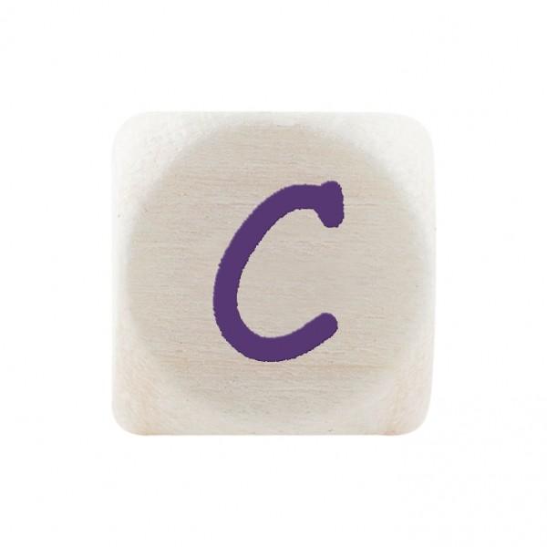 Angebot Premiumbuchstabe 10 mm lila C