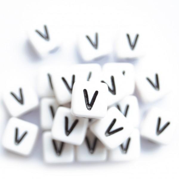 ca. 550 Kunststoffbuchstabenwürfel 10 mm V