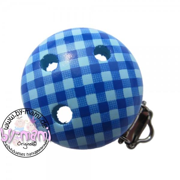Sale Motivclip I Vichy babyblau/skyblau