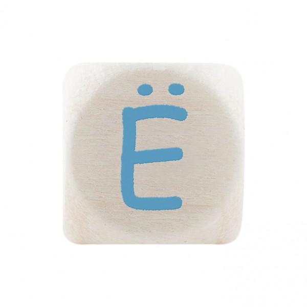 Premiumbuchstabe 10 mm babyblau Ë
