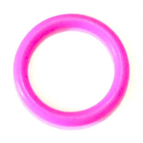 Angebot Mini-Silikonring neon pink
