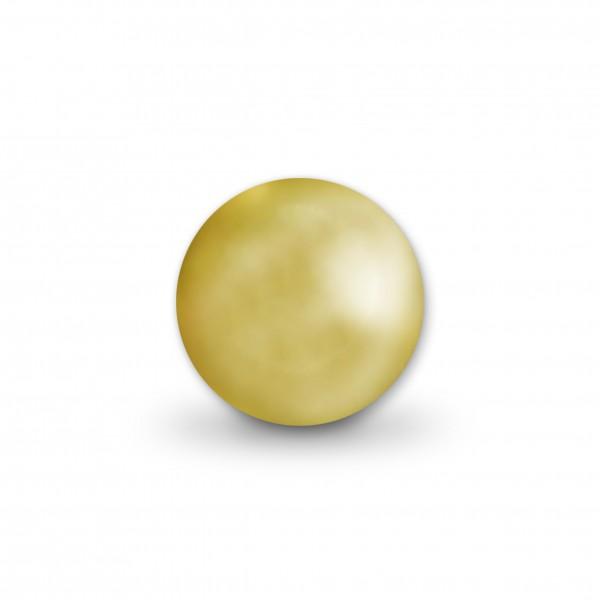 Angebot Uniperlen 12 mm gold